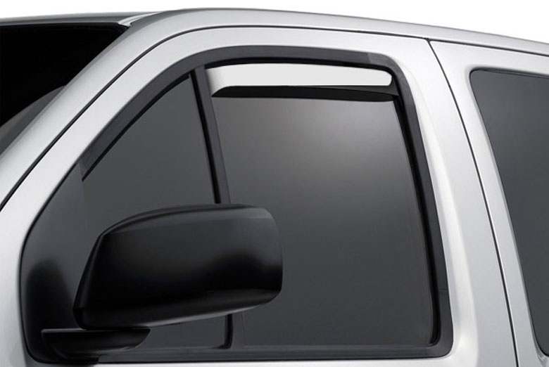 AVS Ventshade Stainless Window Visor Wind Deflectors (4 Door)