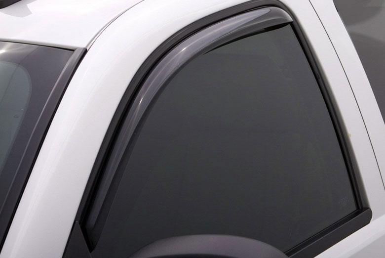 AVS Ventvisor Smoke Elite Front Window Visor Wind Deflectors (Regular Cab)