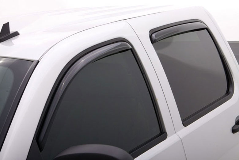 AVS Ventvisor Smoke Elite Window Visor Wind Deflectors (Crew Cab)