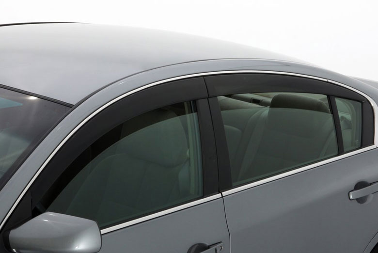 AVS Ventvisor Smoke Low Profile Window Visor Wind Deflectors (Sedan)