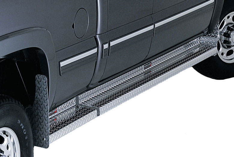 2000 Ford  E-250 Diamond Plate Challenger Running Boards