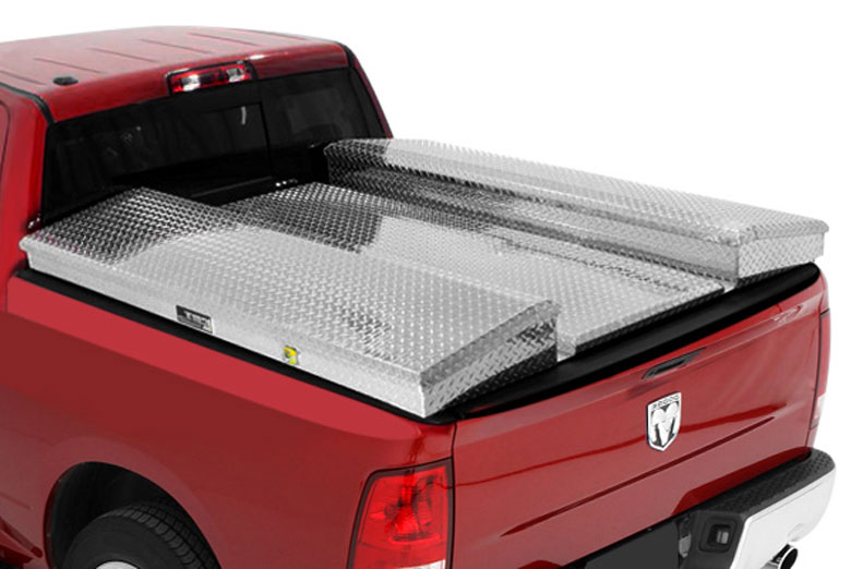 2002 Ford F-250 Contractor Box Diamond Plate Complete Tonneau Cover System