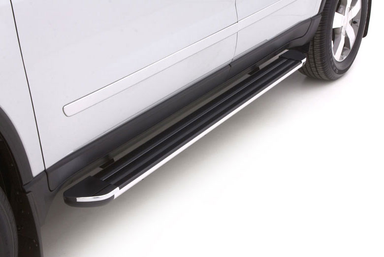 2012 GMC  Acadia Black Crossroads Running Boards