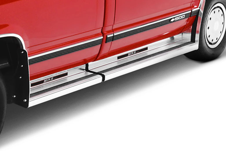 1989 Ford  E-Series Diamond Plate Delta III Running Boards