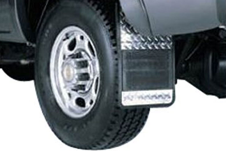 1999 Chevrolet Silverado Diamond Plate Mud Flaps