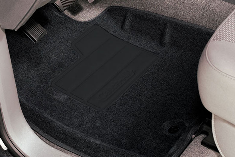 2008 Ford Explorer Sport Trac Catch-All Black Front Floor Mats