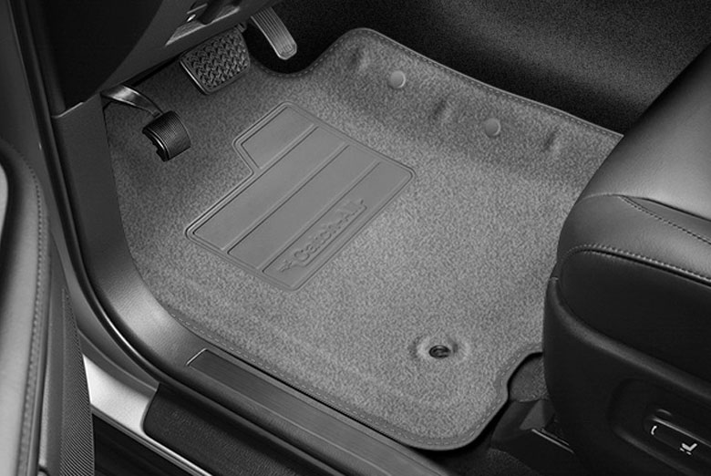 2004 Nissan Armada Catch-All Charcoal Front Floor Mats