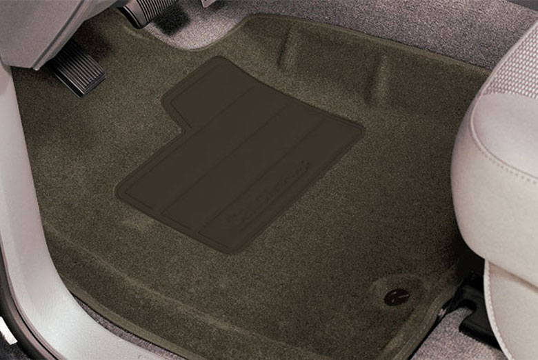 2005 Toyota Sequoia Catch-All Neutral Front Floor Mats W/ 3rd Row Seats Cutouts