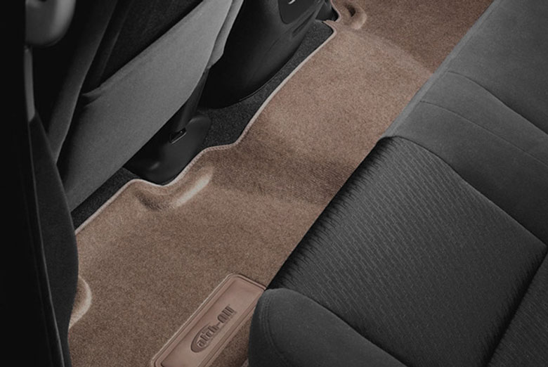 2002 BMW X5 Catch-All Beige Second Row Floor Mats