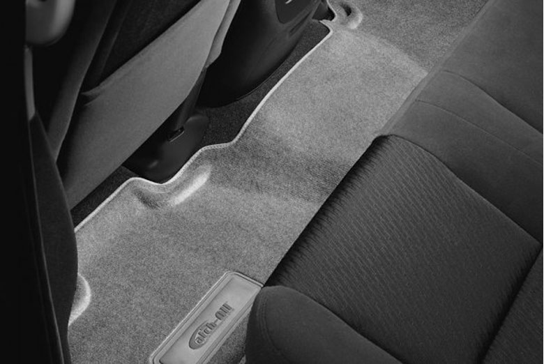 2012 Lincoln Navigator Catch-All Gray Second & Third Row Floor Mats W/O 2nd Row Seats W/ Console