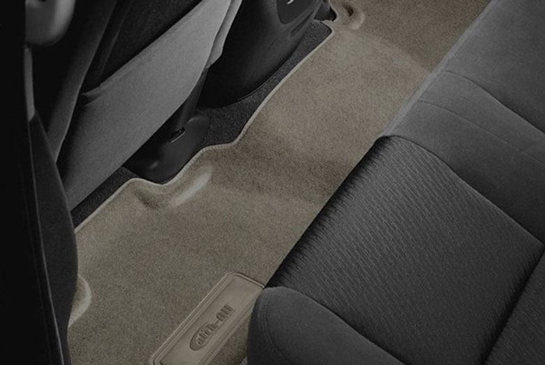 2004 Chevrolet Suburban Catch-All Neutral Second & Third Row Floor Mats