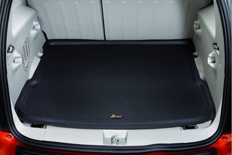 2003 Mercury Mountaineer Catch-All Xtreme Black Cargo Mat W/ 3rd Row Seats