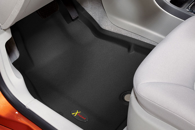 2010 Dodge Dakota Catch-All Xtreme Black Front Floor Mats