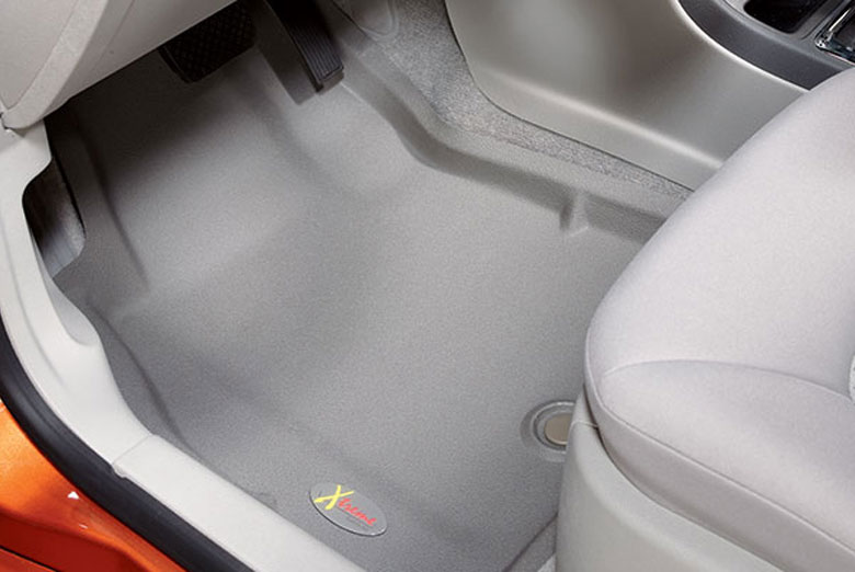 2009 GMC Canyon Catch-All Xtreme Gray Front Floor Mats