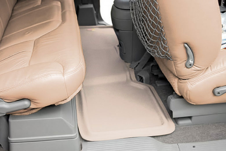 1996 Chevrolet Tahoe Catch-All Xtreme Tan Second Row Floor Mats W/O Rear Air W/O Floor Shifter