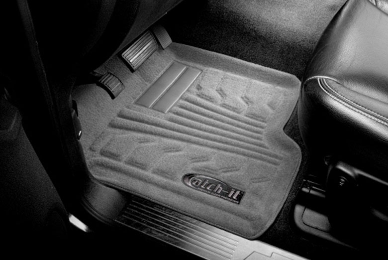 1999 Ford Ranger Catch-It Gray Carpet Front Floor Mats