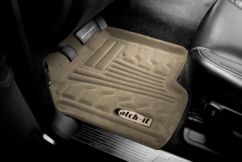 2010 Ford Focus Catch-It Tan Carpet Front Floor Mats