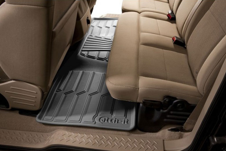 2013 Nissan Altima Catch-It Gray Rear Floor Mats