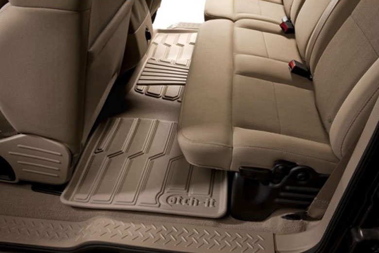 2012 Subaru Legacy Catch-It Tan Rear Floor Mats