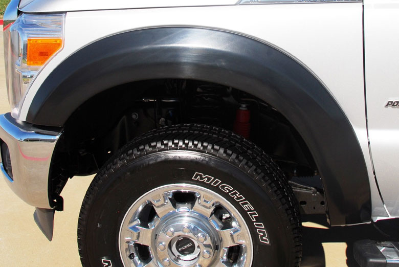 2004 Dodge Ram Lund EX-Extrawide Textured Full Set Fender Flares (1500)