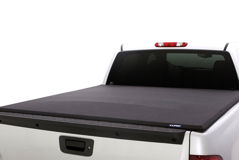 2002 Ford F-250 Genesis Elite Hinged Tonneau Cover