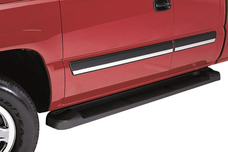 1998 Lincoln  Navigator Factory Style Brite Running Boards