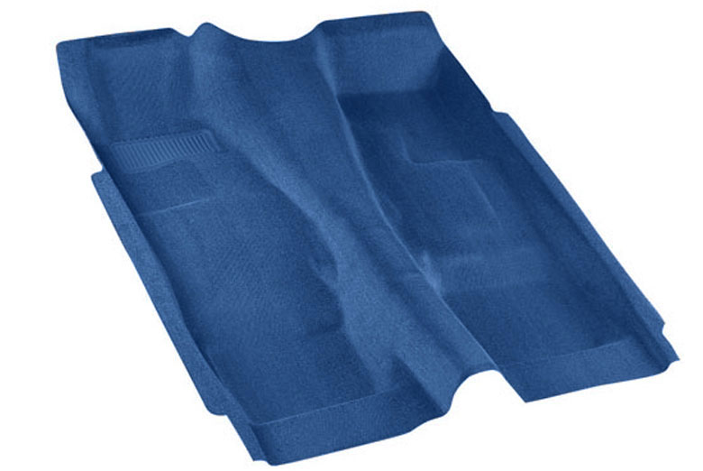 1987 Chevrolet  CK Pro-Line Blue Replacement Carpet W/ Column Shifter
