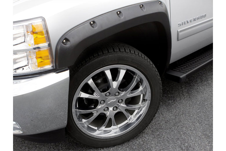 2005 Ford F-350 Lund RX-Rivet Textured Front Set Fender Flares