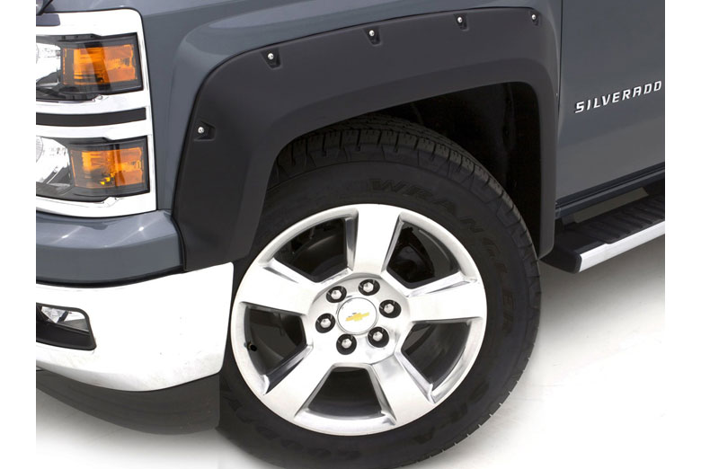 2005 Ford F-350 Lund RX-Rivet Full Set Fender Flares