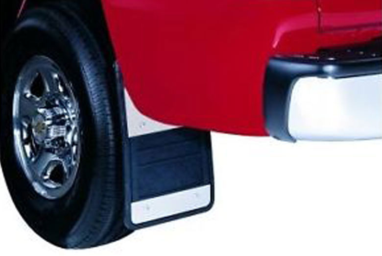 2007 Ford F-250 Stainless Steel Mud Flaps