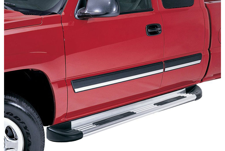 2009 Mitsubishi  Raider Trailrunner Brite Running Boards (Double Cab)