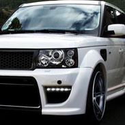 Land Rover Paint Protection Film Application
