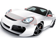 2008 Porsche 911 Hood Paint Protection Kits