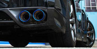 2010 Cadillac SRX Burnt Tip Mufflers