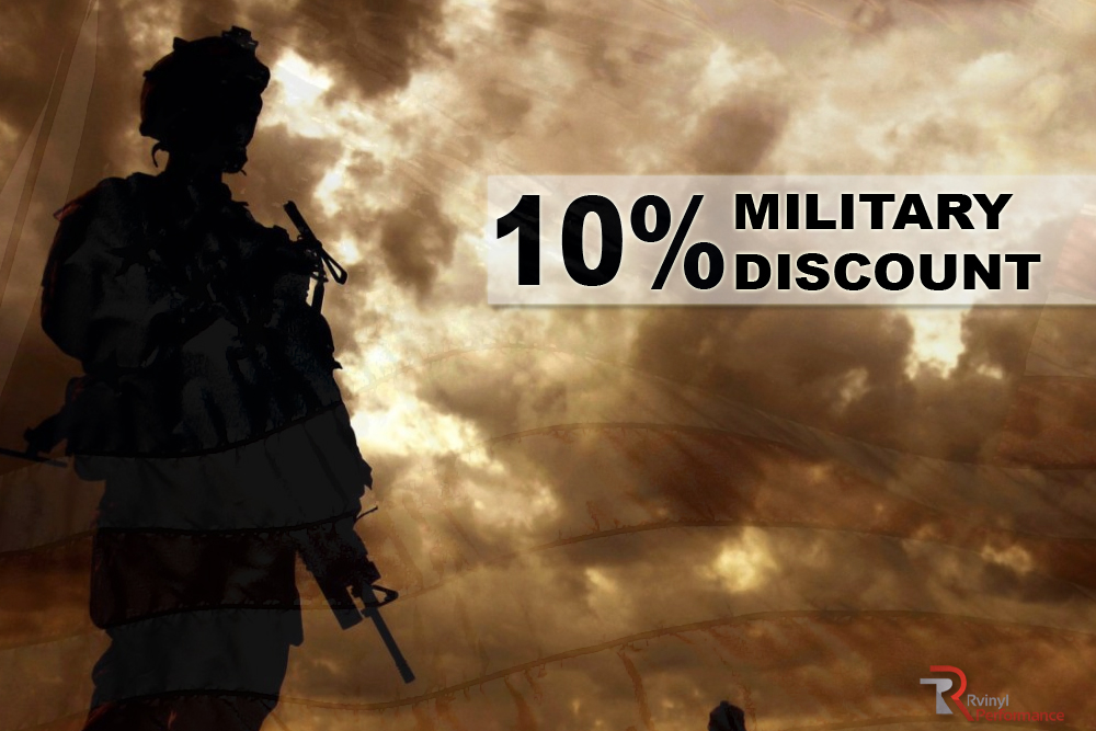 Rvinyl Military Discount Program