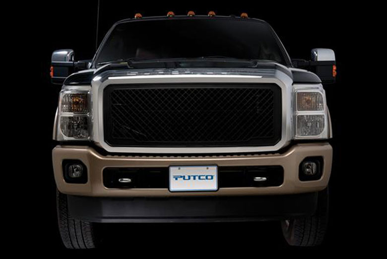 2013 Ford F-250 Boss Grille