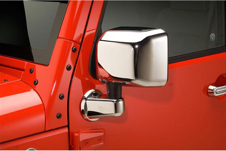 2012 Jeep Wrangler Mirror Covers