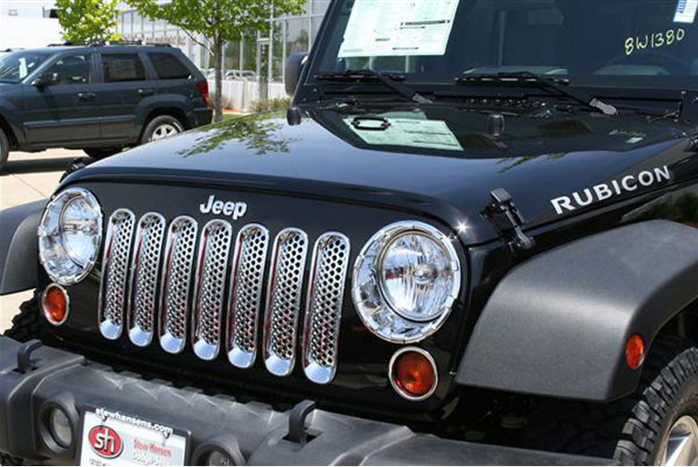 2009 Jeep Wrangler Trim Grille Covers