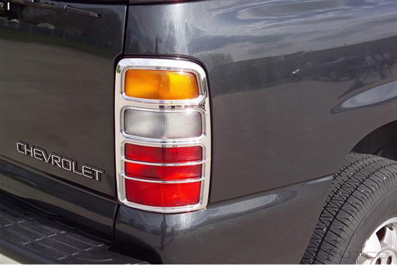 2002 Chevrolet Suburban Tail Light Bezels