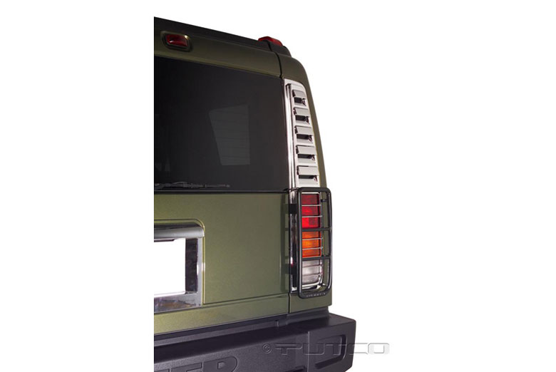 2003 Hummer H2 Tail Light Bezels