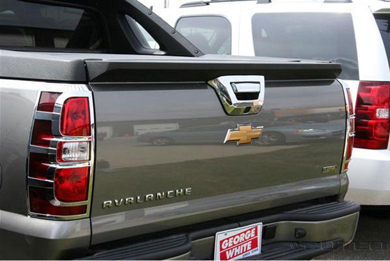 2010 Chevrolet Avalanche Tail Light Bezels