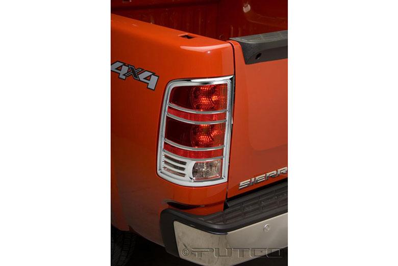 2010 GMC Sierra Tail Light Bezels