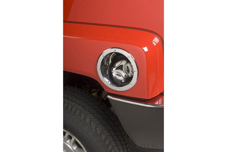 2008 Hummer H3 Fuel Door Cover