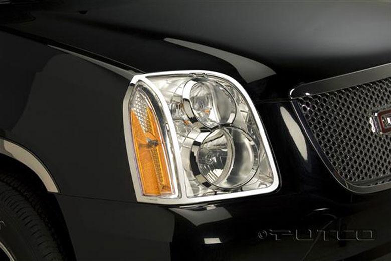 2008 GMC Yukon Headlight Bezels