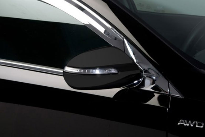 2014 Kia Sportage Mirror Bracket Moldings Covers