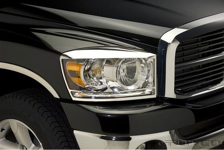 2008 Dodge Ram Headlight Bezels