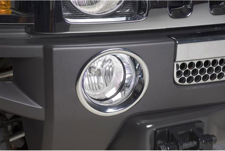 2009 Hummer H3T Fog Light Bezels