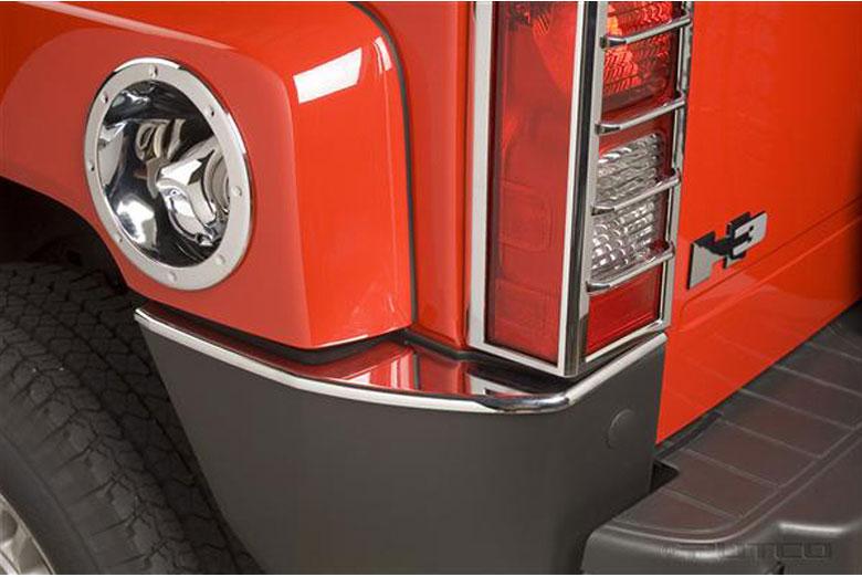 2008 Hummer H3 Rear Bumper Cover
