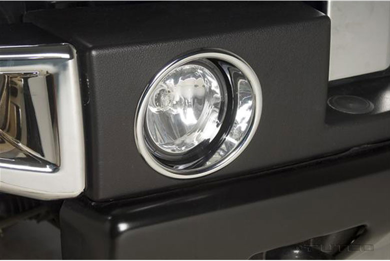 2005 Hummer H2 Fog Light Bezels