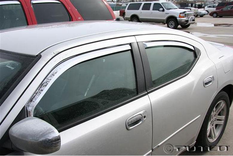 2007 Dodge Charger Element Window Visors